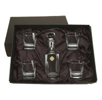 CSI 5 Piece Decanter Set