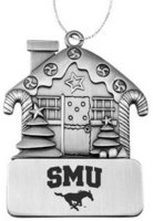 SMU Mustangs Ornament