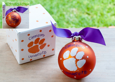 Clemson Logo Ornament