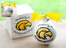 Southern Mississippi Logo Ornament