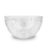 Krystof Cut Crystal  Salad Bowl