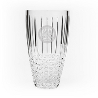 Barrel Vase  Hand Cut Krystof Crystal (Online Only)