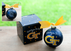 Georgia Tech Logo Ornament