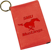 SMU Mustangs Deluxe ID Holder