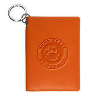 Carolina Sewn Leather Snap ID Holder