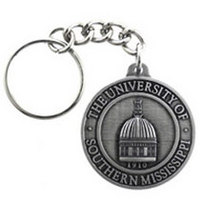 Southern Mississippi Eagles Keychain