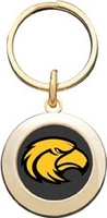Southern Mississippi Eagles Round Keychain