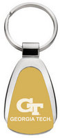 Georgia Tech Tear Drop Key Tag