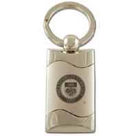 University of Chicago Wave Keychain