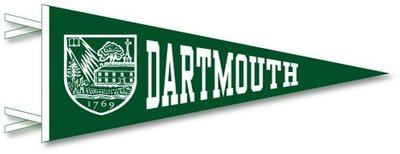 Dartmouth Big Green Pennant from Collegiate Pacific