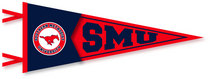 SMU Mustangs Multi Color Logo Pennant from Collegiate Pacific