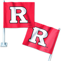 Rutgers Scarlet Knights Car Flag from Wincraft