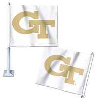 Georgia Tech Wincraft Car Flag