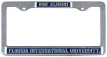 FIU Alumni License Plate Frame
