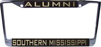 Southern Mississippi Eagles Laser Magic License Plate Frame