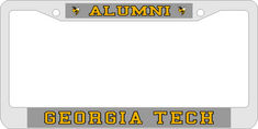Georgia Tech Laser Magic License Plate Frame