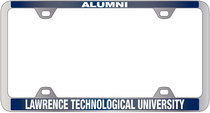 School Name License Plate Frame