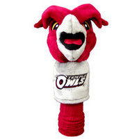 Temple Mascot Golf Club Headcover from Team Golf