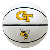 Georgia Tech Baden Autograph Basketball