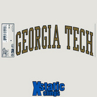 Georgia Tech Static Cling Decal