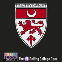 Yale Bulldogs Timothy Dwight Decal