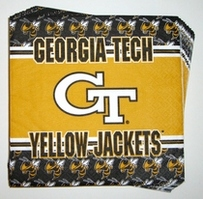 Georgia Tech Napkins