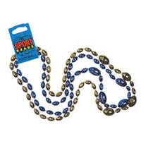 Delaware Blue Hens Double Strands Sports Beads