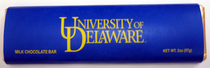 Delaware Blue Hens Chocolate Bar