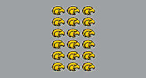 Southern Mississippi Eagles Sticker Sheet