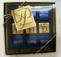 Delaware Blue Hens Chocolate Gift Box