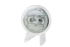 Silver Plated Rivarly 150 Coin