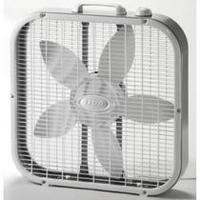 Lasko 20 inch Box Fan, White