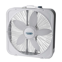 Lasko Box Fan, 20in, White