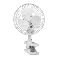 Lasko Clip Fan, 6in, White