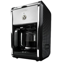 DOTS 12 Cup Coffee Maker Black