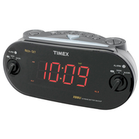 Dual Alarm Clock with Redi Set