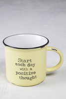 Natural Life Camp Mug Start Each Day