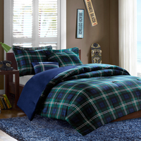 Twin Comforter Set   Brody Blue