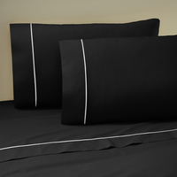 Martex Sheet Set Twin XL Black