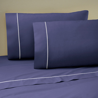 Martex Sheet Set Twin XL Navy