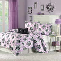 Twin Comforter Set  Katelyn Purple