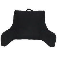 Black Microfiber Pillow