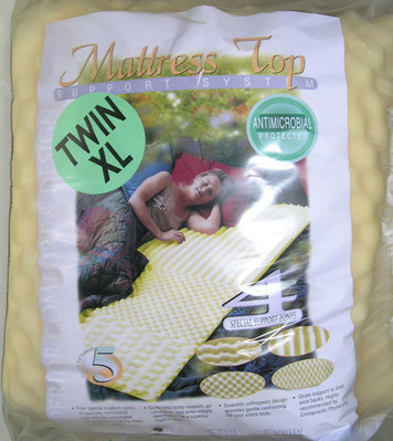 XL Twin 1.5 Thick Egg Shell Mattress Pad