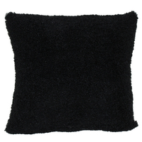 Black Poodle Pillow
