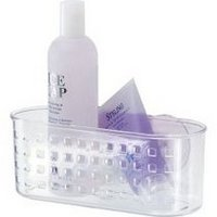 Suction Shower Basket  Clear