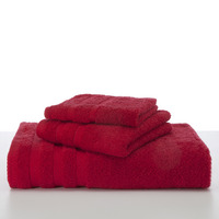 Bath Towel 30x54 Red