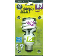 GE 60 Watt Energy Star Compact Fluorscent Bulb