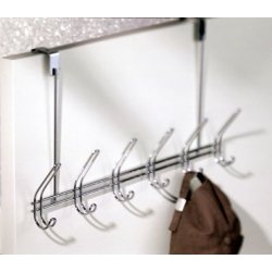 Classico Chrome Over The Door Rack