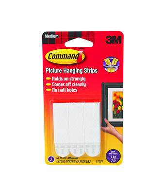 Command Adhesice Medium Interlock