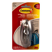 Command Large Hook Brushed Nickel